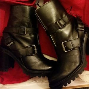 Christian Louboutin Viyonce lined Boots 37  black